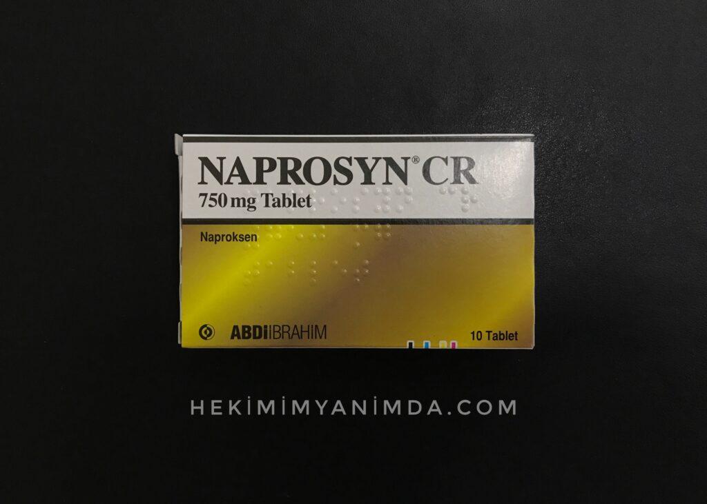 Naprosyn CR 750 mg Tablet günde kaç tane içilir?